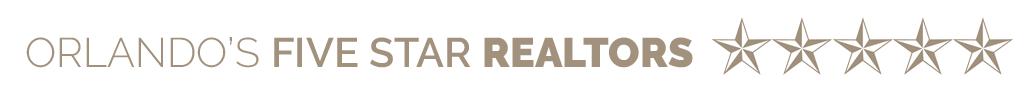 Orlando's Five Star Realtors Banner