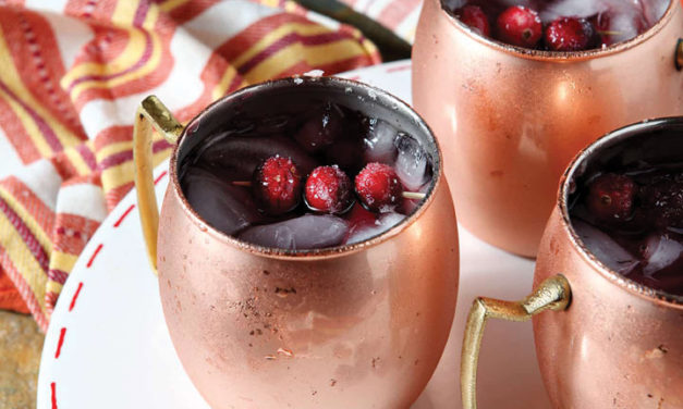 Cranberry Mules with your Thanksgiving feast!